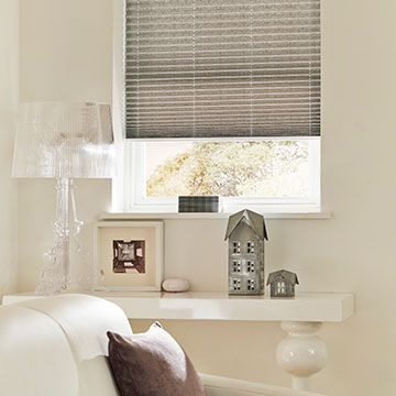 Pleated Blind_Grenoble Taupe_Living Room