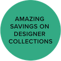 amazing savings on designer collections