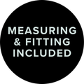 Measuring & fitting included