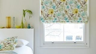 Roman Blind_Origin Citrine_Roomset