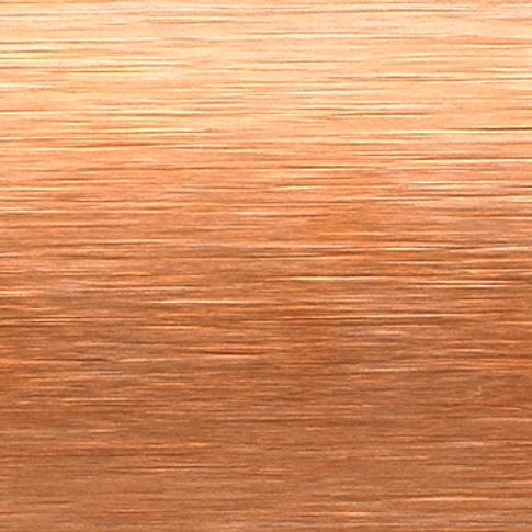 Sheer Luxury Brushed Copper