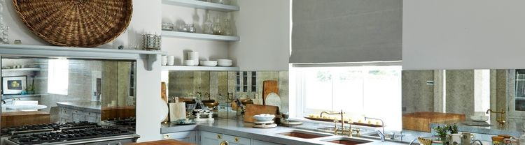 grey-roman-blind-bronco-charcoal-kitchen