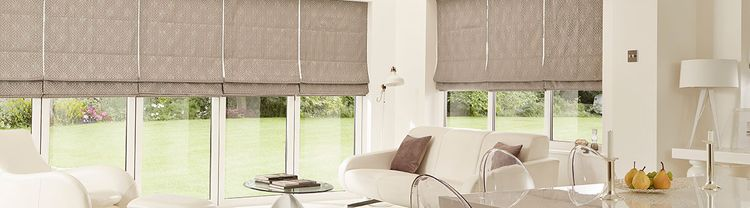 element-taupe-roman-blind-living-room