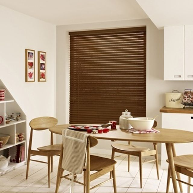 Wooden Blinds_Haywood Rich Walnut_Roomset
