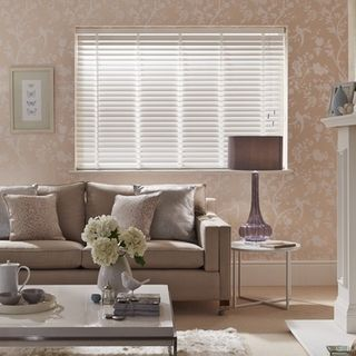 Wooden Blinds_Haywood Provence White_Roomset