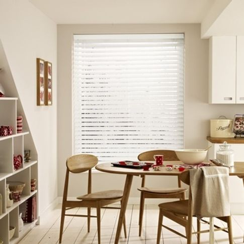 Wooden Blinds_Wood Illusions Matt White_Roomset