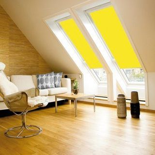 Velux Blind_4073 Bright Yellow_Roomset