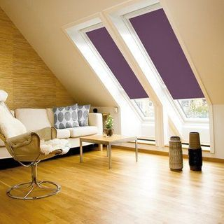 Velux Blind_4157 Dark Purple_Roomset
