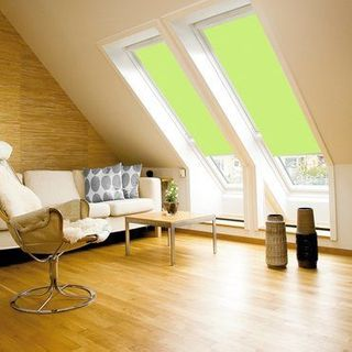 Velux Blind_4569 Pale Green_Roomset