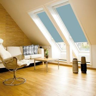 Velux Blind_4571 Light Blue_Roomset