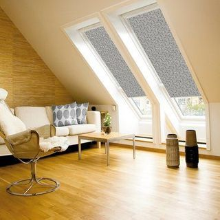 Velux Blind_4573 Graphic Pattern_Roomset