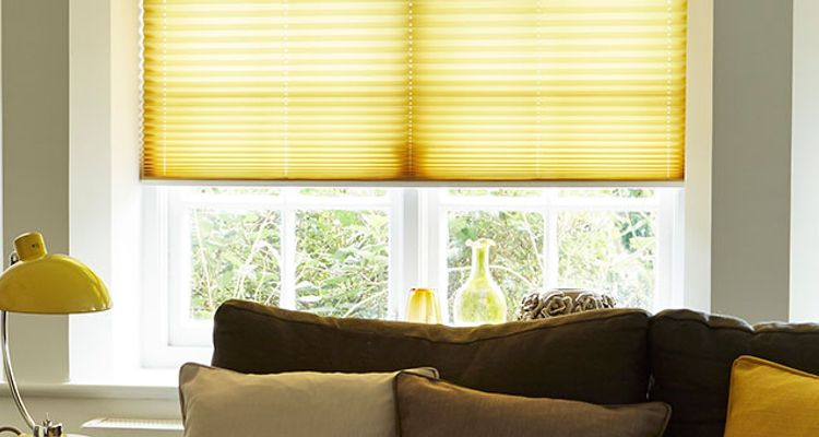 grenoble-citrus-yellow-pleated-blind
