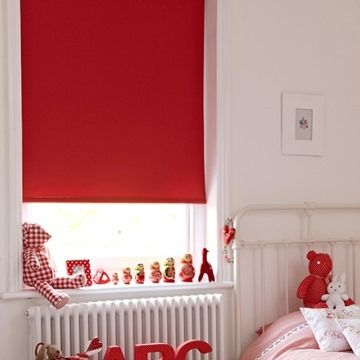 Red Roller Blinds Hillarys