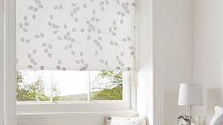 White Bedroom Roller Blind_Seedhead