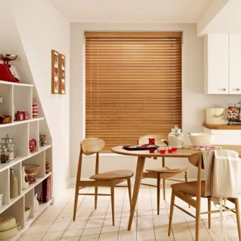 Wooden Blind_Haywood Scandinavian Beech_Kitchen