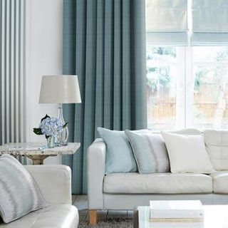 Curtain Clarence Teal Roomset