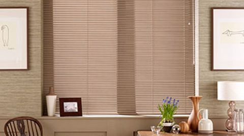 Venetian Blind_Portfolio Soft Brown_Dining Room