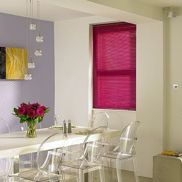 Wild-Plum-Venetian-Blind-Dining-Room