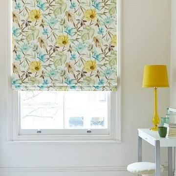 Origin Citrine_Bedroom_Roman Blind