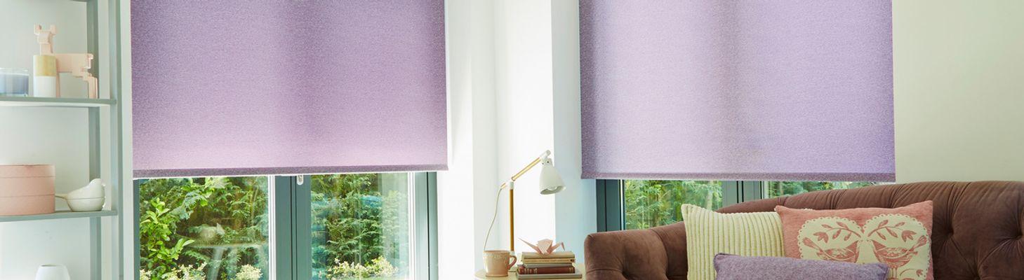 purple blinds hillarys. Black Bedroom Furniture Sets. Home Design Ideas