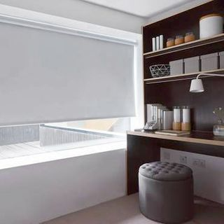 Roller Blind_Cordova Grey_Roomset