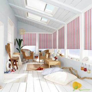 Roller Blind_Circus Hot Pink_Roomset