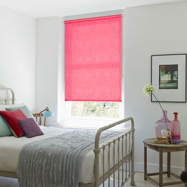 Pink Roller Blinds Dusky To Hot Pink Roller Blinds