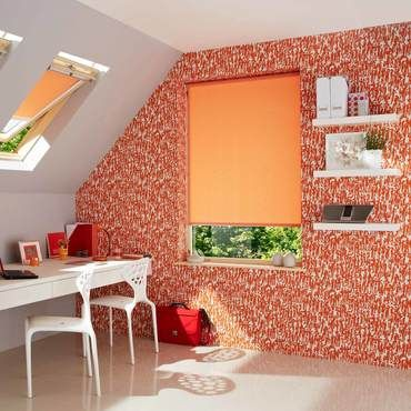 Orange Roller Blinds Burnt Orange Roller Blinds Hillarys
