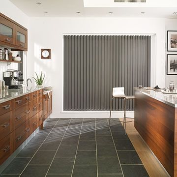 Vertical Blind_Acacia Charcoal_Kitchen