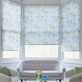 Roller Blind_Betsy Blue_Living Room