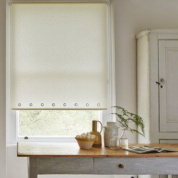 Roller Blind_Sherbourne Lemon_Kitchen