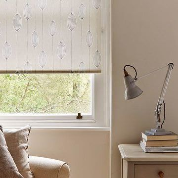 Natural Kitchen Roller Blind_Silas
