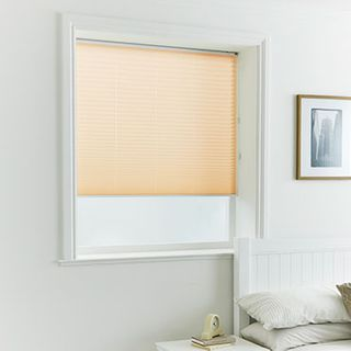 Pleated Blind_Alayna Apricot_Roomset
