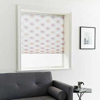 Pleated Blind_Cecelia Tropical_Roomset