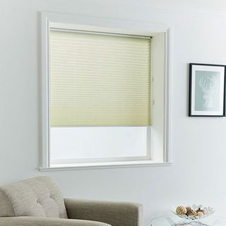 Pleated Blind_Florence Beige_Roomset