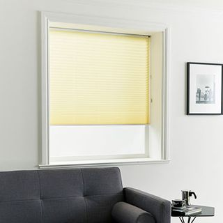 Pleated Blind_Kari Lemon_Roomset