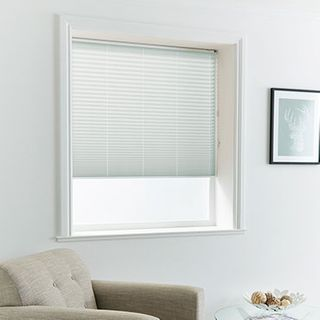 Pleated Blind_Malbec Grey_Roomset