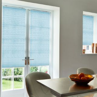 Pleated Blind_Montoya Azure_Roomset
