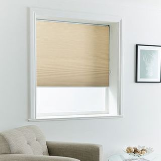 Pleated Blind_Thermashade Calico_Roomset