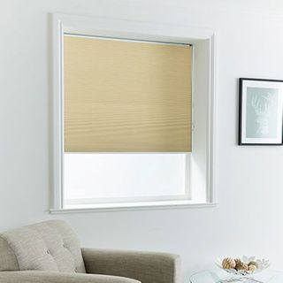 Pleated Blind_Thermashade Cream_Roomset