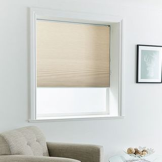 Pleated Blind_Thermashade Linen_Roomset