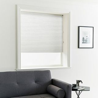Pleated Blind_Thermashade Mist_Roomset
