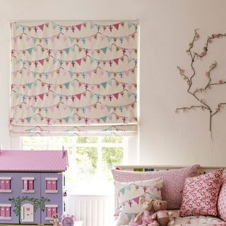 Roman Blind_Bunting Chintz_Roomset