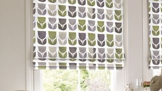 Roman Blind_Rayna Apple_Roomset