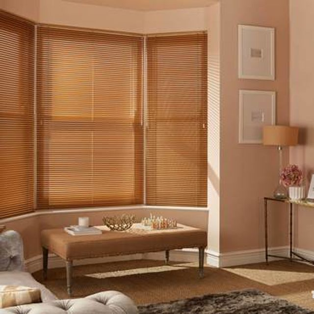 Venetian Blind_Special Finish Copper_Roomset