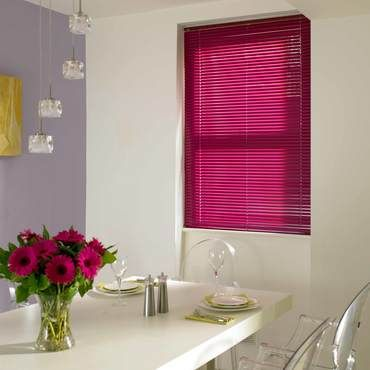 Venetian Blind_Spectrum Fuschia_Roomset