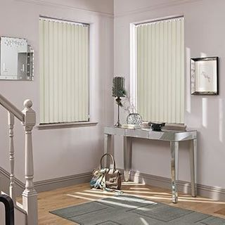 Vertical Blind_Cordova Ivory_Roomset