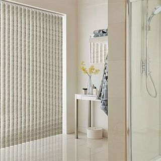 Vertical Blind_Fiji Stone_Roomset
