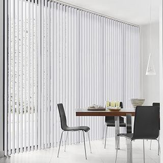 Vertical Blind_Florence White_Roomset
