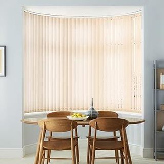Vertical Blind_Vivre Ivory_Roomset